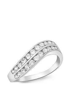 love-gold-9ct-white-gold-cubic-zirconia-two-row-wave-ring