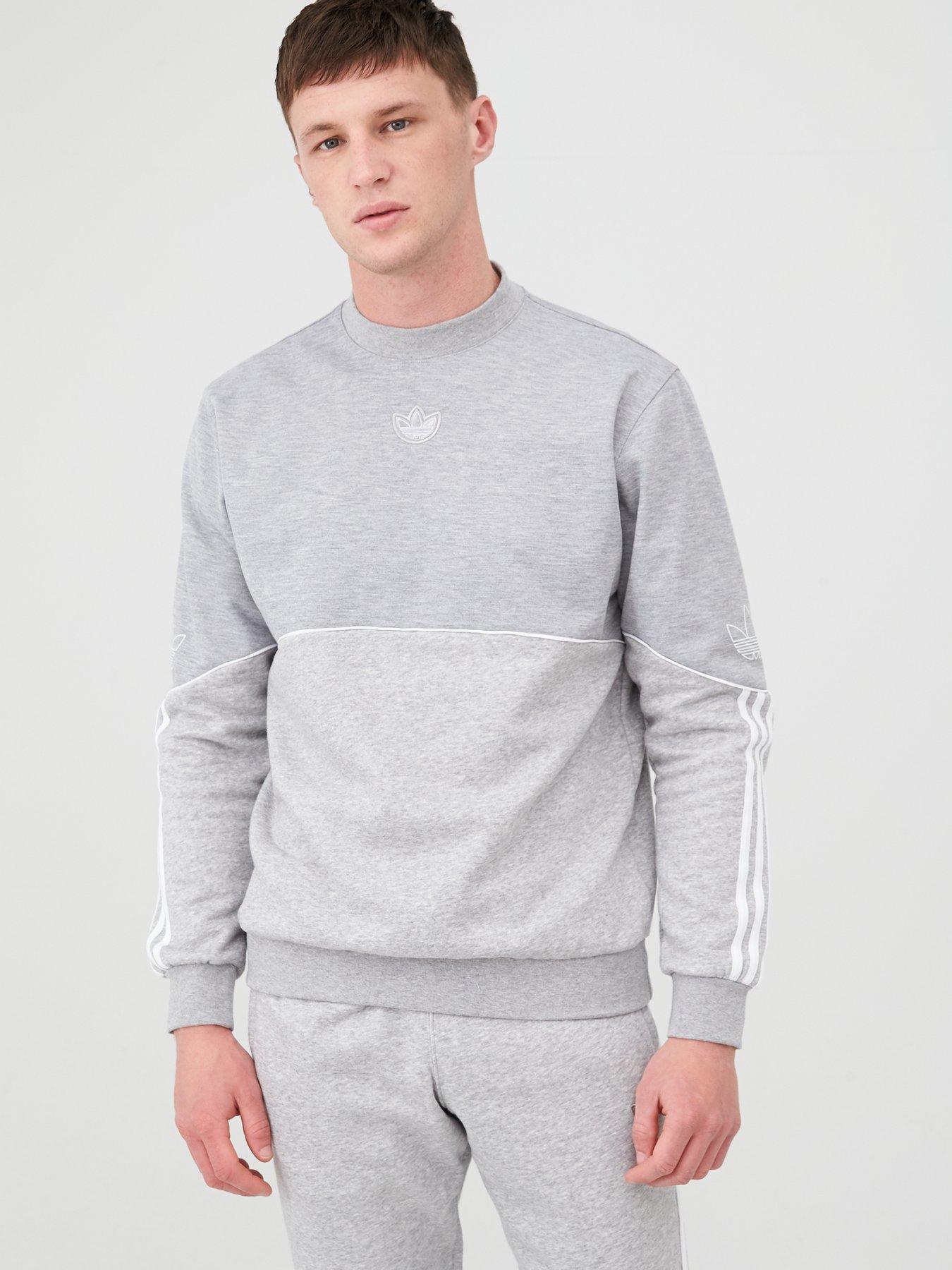 adidas Mens Core18 Sweater Short Sleeve Crew Neck Sweatshirt