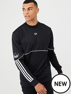 adidas-originals-outline-crew-neck-sweat-black