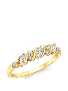 love-gold-9ct-gold-cubic-zirconia-7-stone-swirl-ring