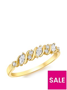 love-gold-9ct-gold-cubic-zirconia-7-stone-swirl-ring
