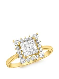 love-gold-9ct-gold-cubic-zirconia-square-halo-solitaire-ring