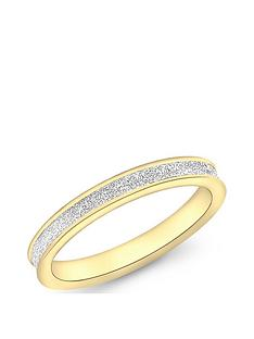 love-gold-9ct-gold-stardust-25mm-band-ring