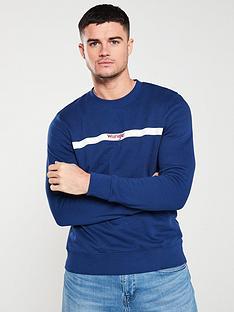 wrangler-stripe-logo-sweatshirt-blue-depths