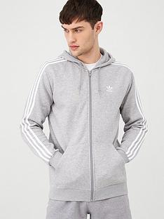 adidas-originals-3-stripe-full-zip-hoodie-medium-grey-heathernbsp