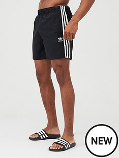 adidas-originals-3-stripe-swim-shorts-black