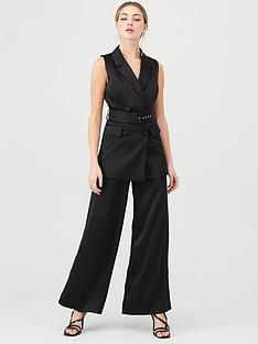 v-by-very-satin-sleeveless-longline-blazer-black