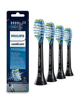 philips-sonicare-premium-plaque-defence-rfid-brush-heads-4pk-black
