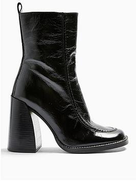 topshop-harvey-chunky-heel-leather-calf-boots-black
