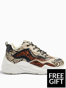 topshop-topshop-cancun-snake-print-chunky-trainers-multi