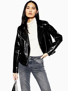 topshop-topshop-pu-faux-croc-short-jacket