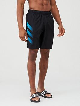 adidas-3-stripe-swim-shorts-black