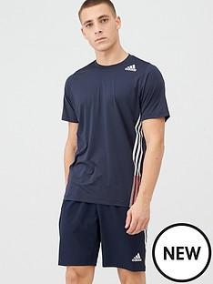 adidas-training-3-stripe-t-shirt