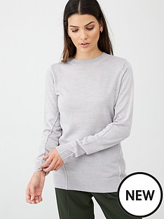 v-by-very-crew-neck-seam-detail-jumper-grey-marl