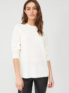 v-by-very-cable-back-jumper-white