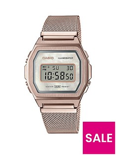casio-casio-retro-blush-digital-dial-carnation-gold-stainless-steel-mesh-strap-watch