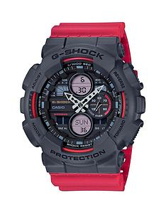 casio-casio-g-shock-black-and-red-detail-chronograph-dial-red-resin-strap-mens-watch