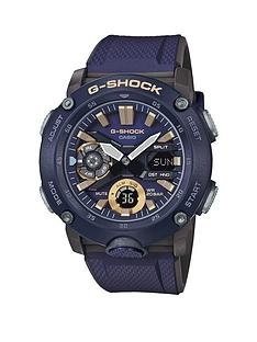 casio-casio-g-shock-blue-and-gold-detail-chronograph-dial-blue-resin-strap-mens-watch