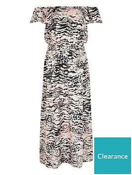 river-island-girls-leopard-print-bardot-maxi-dress-pink