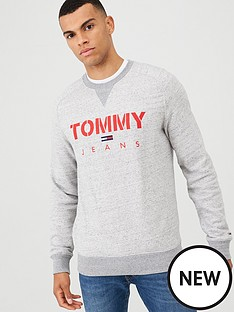 tommy-jeans-crew-neck-sweatshirt-grey-melange