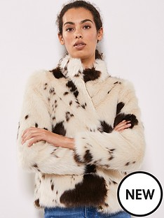 mint-velvet-cow-print-faux-fur-jacket