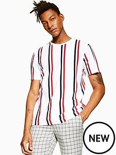 topman-topman-luke-stripe-t-shirt-white