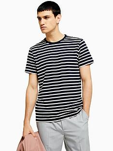 topman-topman-harry-stripe-t-shirt-navy