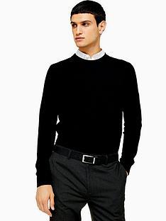 topman-topman-essentials-crew-neck-jumper