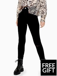 topshop-topshop-tall-black-ripped-joni-skinny-jeans-black
