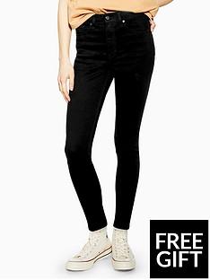 topshop-topshop-jamie-jeans-black
