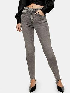 topshop-topshop-jagged-hem-grey-jamie-skinny-jeans-grey