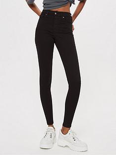 topshop-jamie-super-high-waisted-black-skinny-jeans