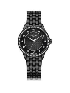 rotary-exclusive-rotary-black-textured-swarovski-set-dial-black-ip-stainless-steel-bracelet-ladies-watch