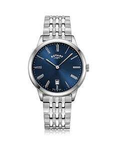 rotary-exclusive-rotary-blue-sunray-date-dial-stainless-steel-bracelet-mens-watch