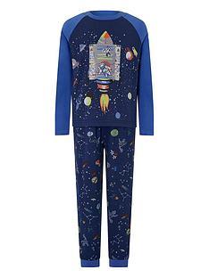 monsoon-boys-roscoe-glow-in-the-dark-jersey-pyjama-set-navy