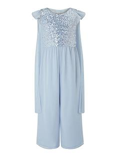monsoon-girls-sparkle-cape-occasion-jumpsuit-blue