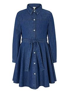 monsoon-girls-selena-shirt-denim-dress-blue