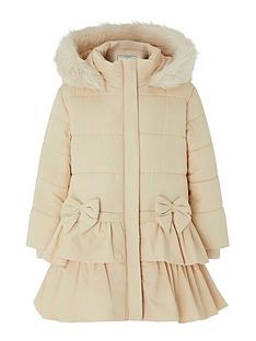 monsoon-baby-girls-cara-padded-hooded-coat-champagne