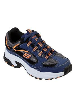 skechers-boys-stamia-cutback-trainers-navy