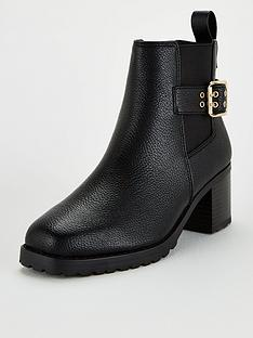 v-by-very-dandy-square-toe-cleat-sole-ankle-boot