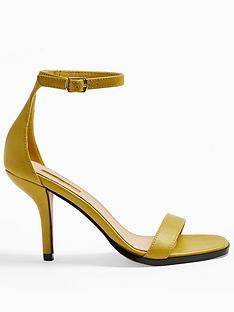 topshop-sage-curved-heel-sandals-yellow
