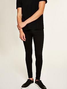 topman-topman-egypt-deejay-spray-on-jeans-black