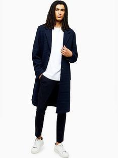 topman-topman-tonal-check-overcoat