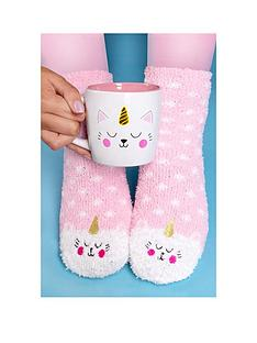 kittycorn-socks-and-mug-set