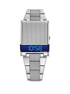 bulova-bulova-computron-archive-series-blue-digital-dial-stainless-steel-bracelet-watch