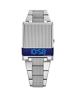 bulova-bulova-computron-archive-series-blue-digital-dial-stainless-steel-bracelet-watch