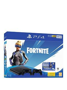 playstation-4-fortnite-neo-versa-500gb-ps4-bundle-with-second-dualshock-4-controller-and-optional-extras