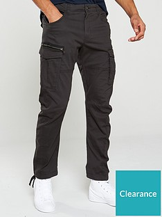 jack-jones-drake-chop-cargo-pants-black