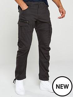 jack-jones-drake-chop-cargo-pants-black