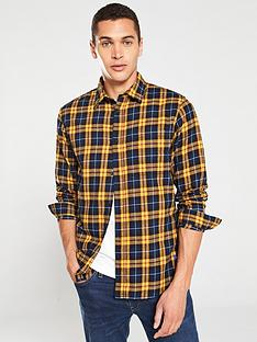 jack-jones-jake-check-long-sleeve-shirt-yellownavy